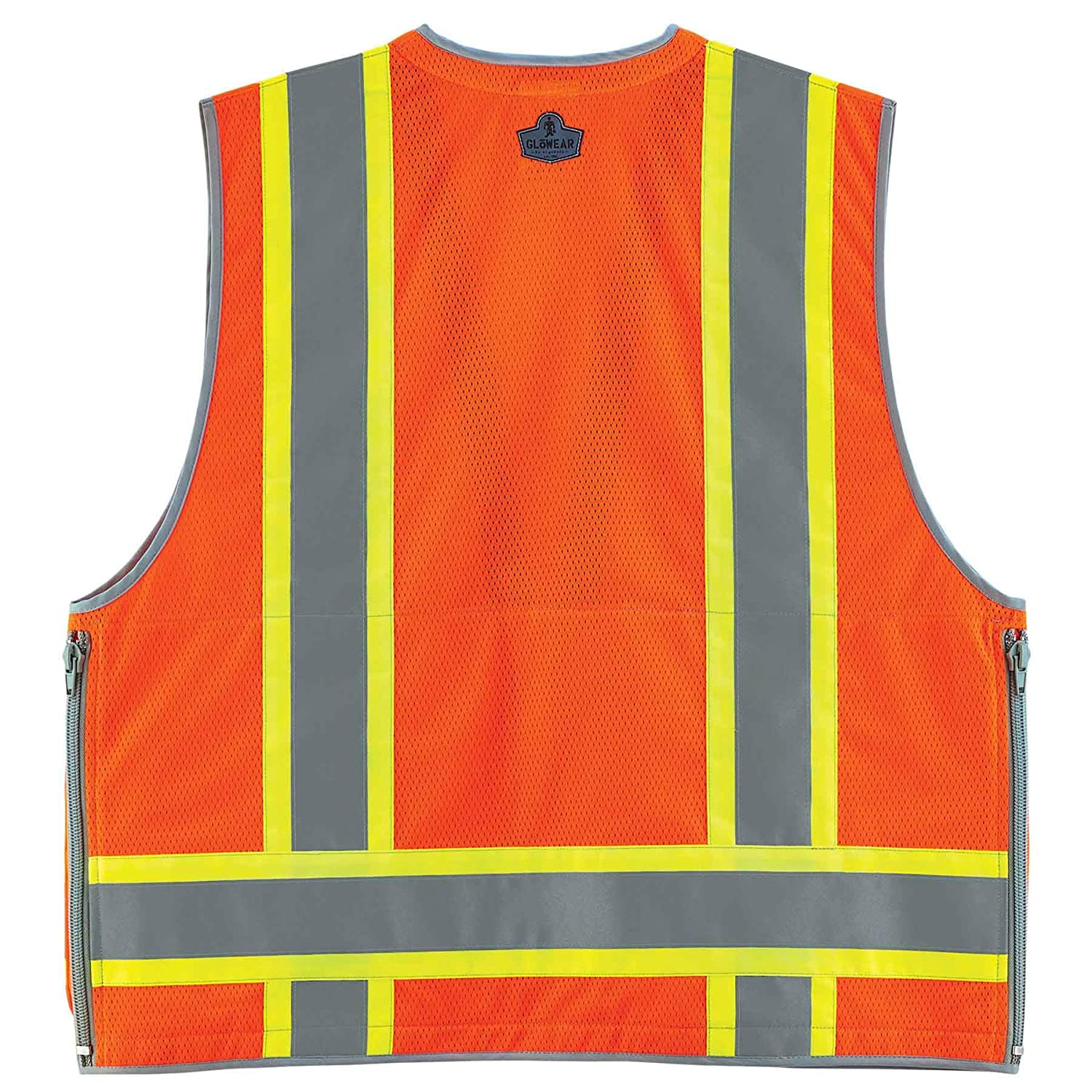 68574773974 Ergodyne GloWear 8254HDZ Class 2 Heavy-Duty Surveyors Safety Vest ...