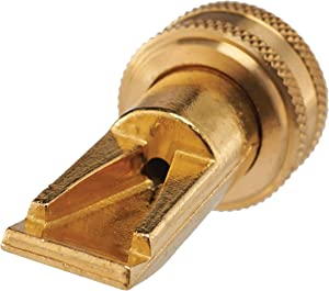Dramm 22311 Heavy-Duty Brass Sweeper Nozzle