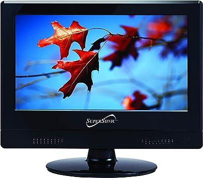 AC//DC Compatible Supersonic 19-Inch 1080p LED Widescreen HDTV w// Remote HDMI