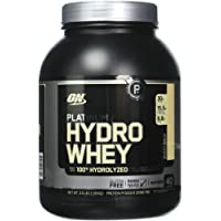 Optimum Nutrition Hydro Whey Whey Protein Powder Isolate with Essential Amino Acids, Glutamine, and BCAA by ON - Velocity Vanilla 40 servings, 1.59kg
