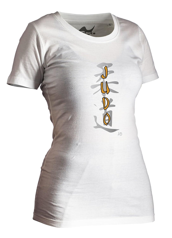 Judo-Shirt Classic weiß Lady Ju-Sports