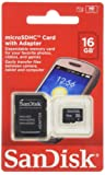 SanDisk 16GB Micro SDHC Memory Card
