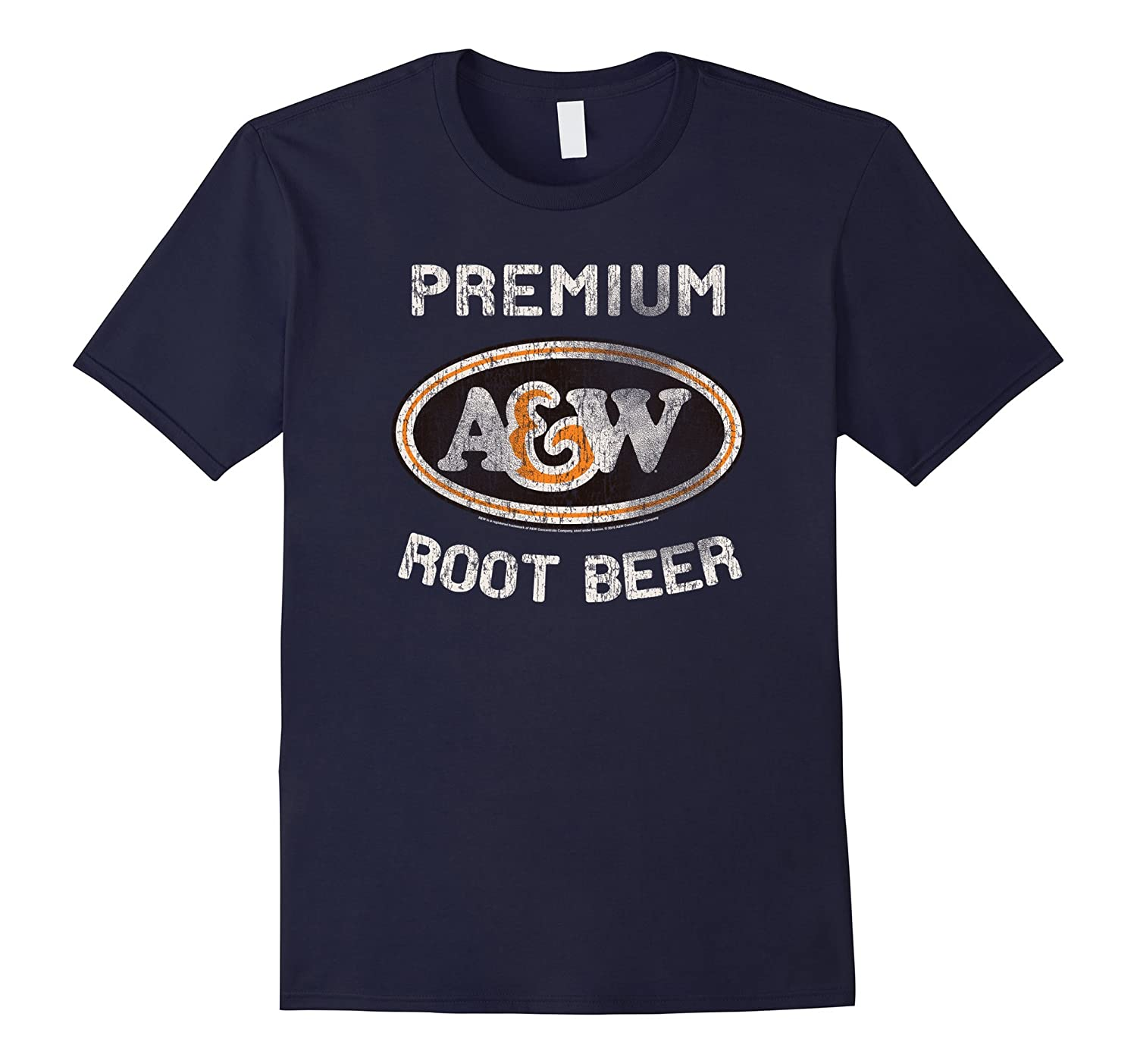 A&W Root Beer Logo T-Shirt | Classic Look style 18835-CL