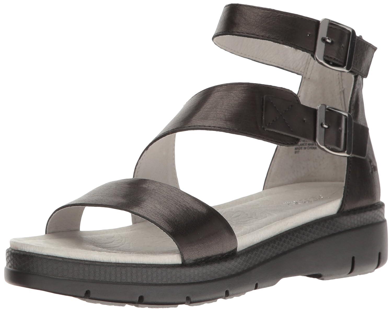 Jambu Women's Cape May Wedge Sandal B01IDQN5F4 8 B(M) US|Black Solid