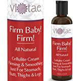 100% Natural Cellulite Cream, Firming & Smoothing Treatment Just For Stomach, Butt, Thighs & Legs - 'Firm Baby! Firm!' - Intensive Therapy For Tough, Problem Areas - 4.46oz
