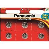 Panasonic CR2016 Litio 3V batería no-recargable - Pilas (Litio, 3 V, 90 mAh, Acero inoxidable, 1,6 g)