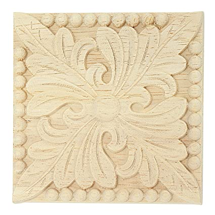 wooden furniture decoration hand carved wooden furniture applique Hardware