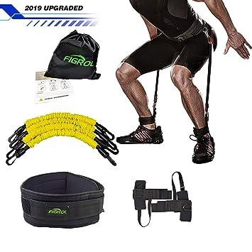 Buy FIGROL Vertical Bounce Trainer Leg Resistance Bands Set