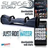 Surge Storm 60 Water Filled Adjustable Weight Tube, Home Gym Equipment