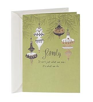 Amazon hallmark christmas greeting card to family relative hallmark christmas greeting card to family relative card m4hsunfo