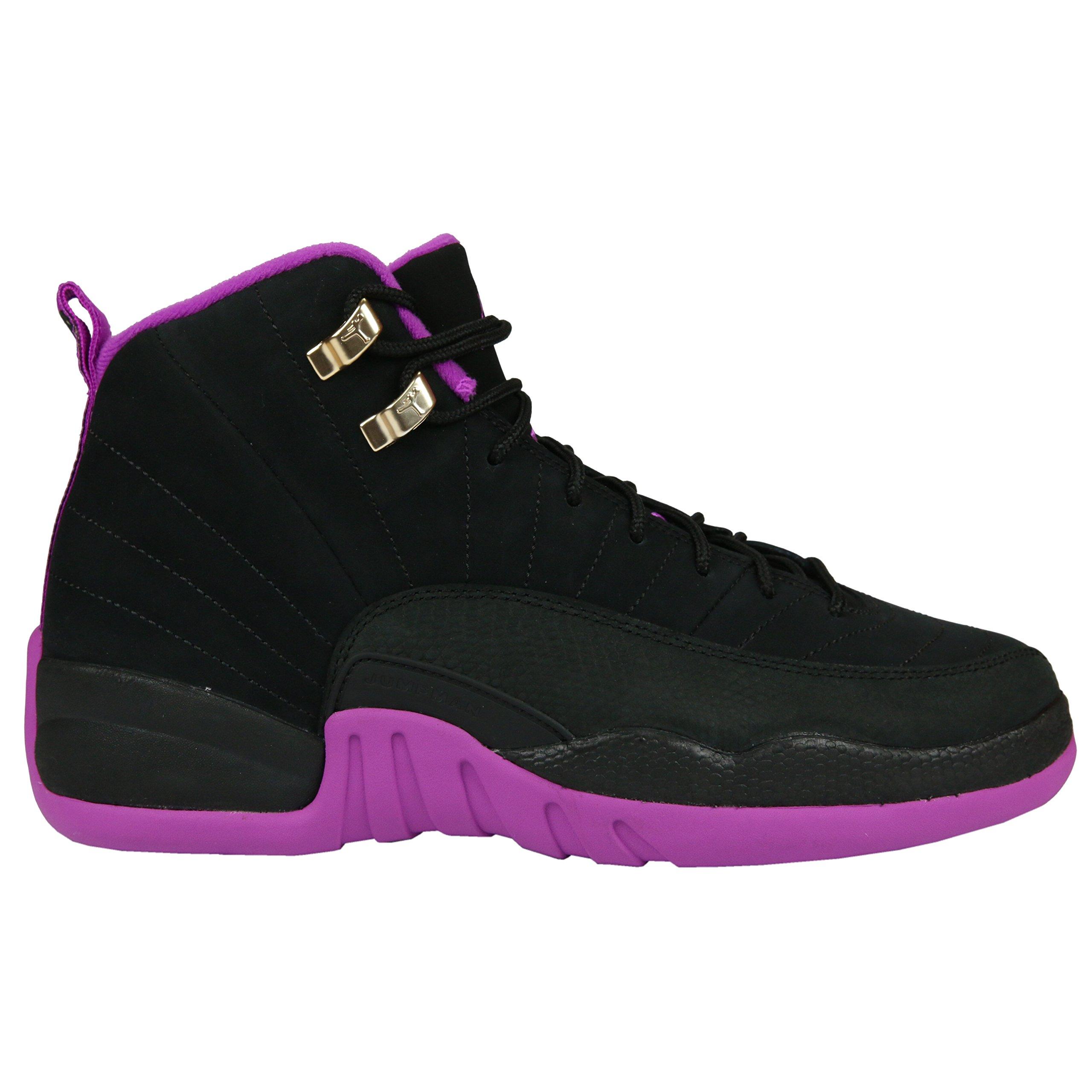 Nike Air Jordan 12 Hyper Violet Kings GS GG 510815-018 US Size 5Y by NIKE
