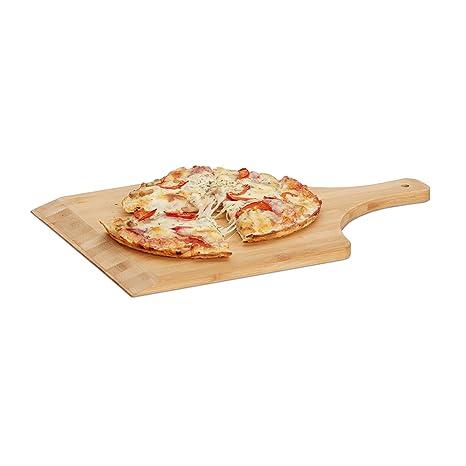 Pizzaschaufel rund Brotschaufel Pizzaschieber Pizzaheber Pizzawender Pizzabrett