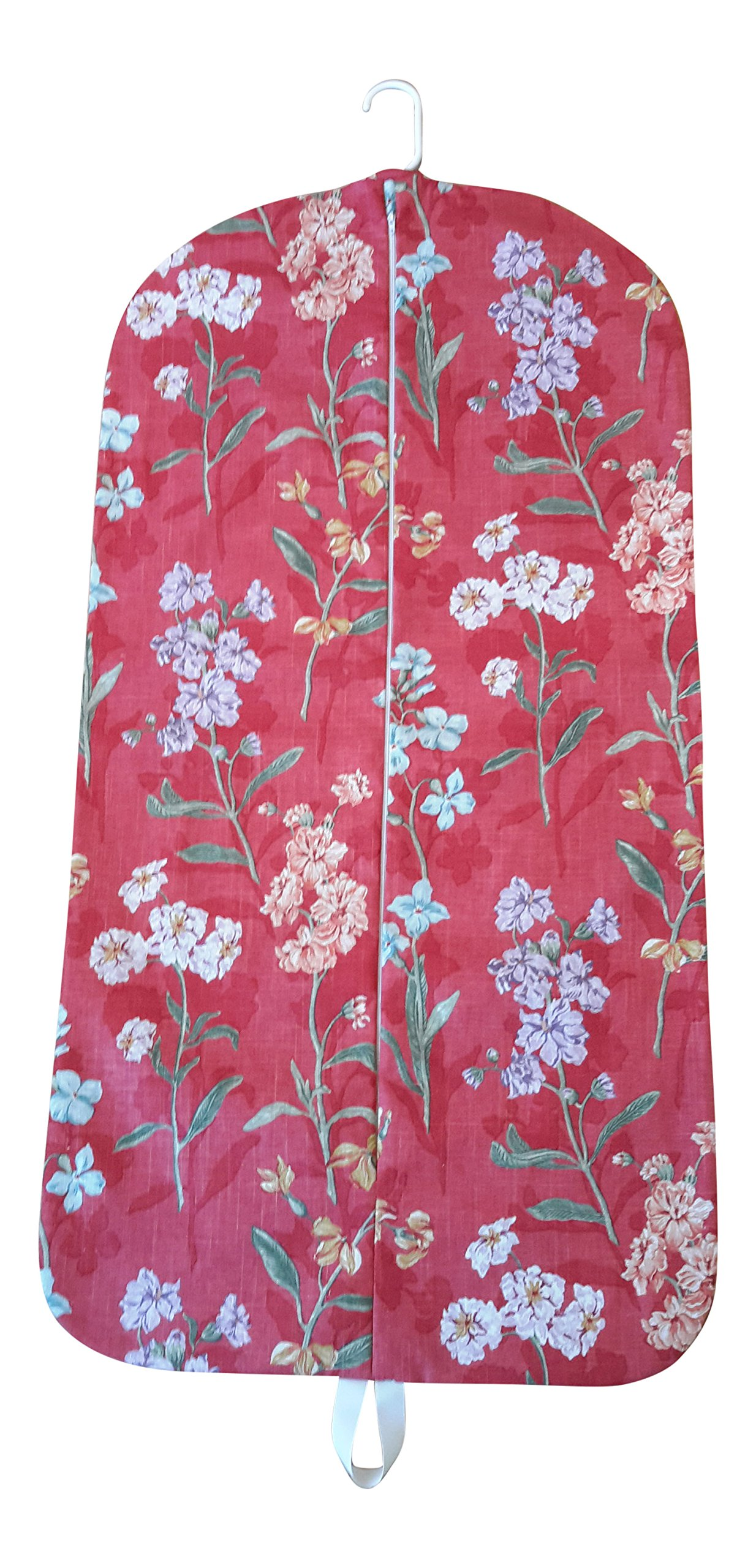 Carry It Well Women's Red Floral Hanging Garment Bag