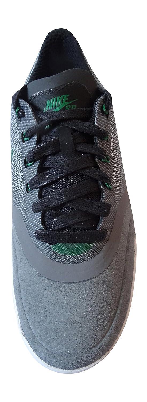 Nike Paul Rodriguez 9 Elite, Zapatillas de Skateboarding para Hombre, Gris/Verde/Blanco/Negro (Cool Grey/Pine Green-White-Blk), 41 EU