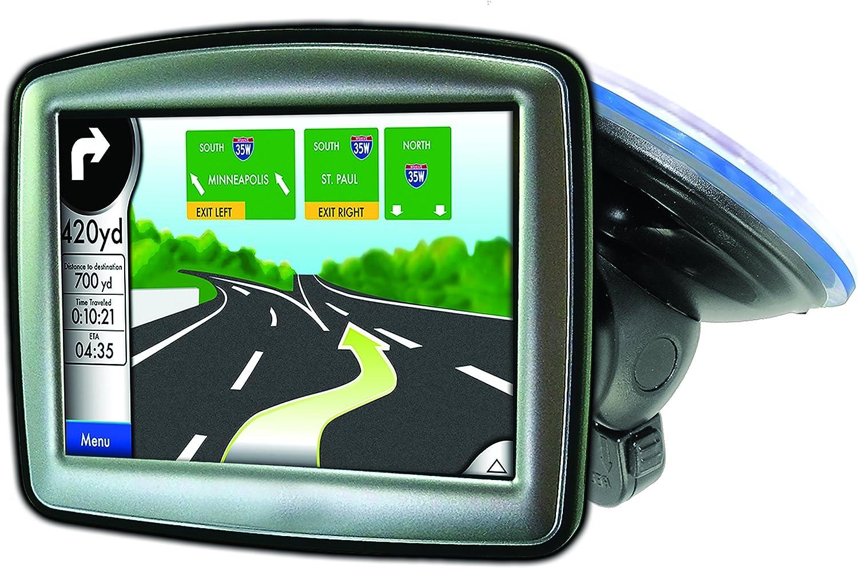 t-notch plate included Garmin Nuvi TomTom Via Go Magellan DashCam Navigator Smartphones Bracketron SWM-400-BL Navigation Low Pro Windshield Mount with Garmin /& other GPS Adapters