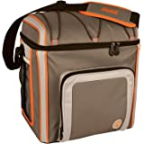 Coleman Company 16 Can Soft Cooler Outdoor with Liner, Tan