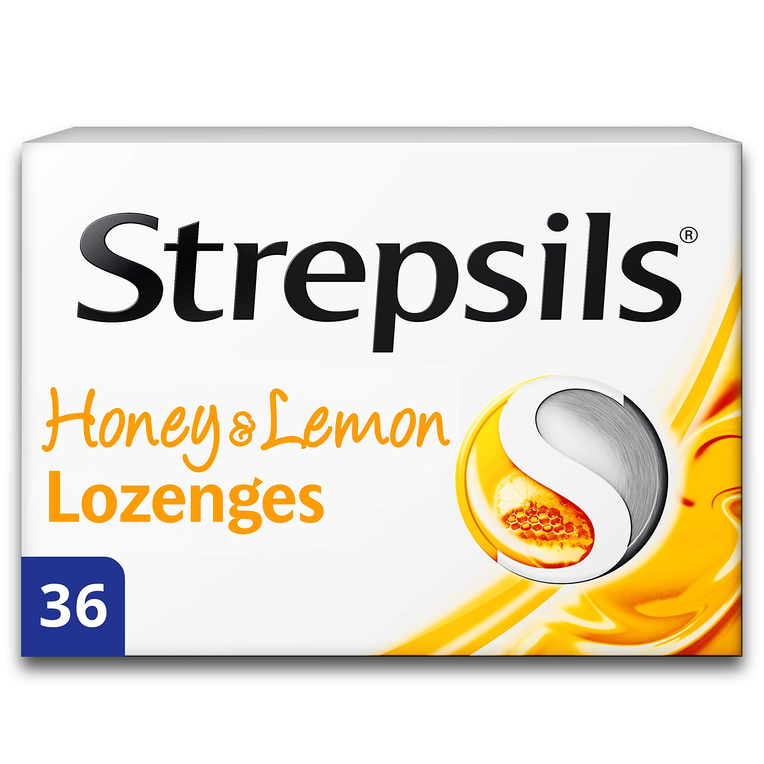 Strepsils Honey and Lemon 36 Lozenges
