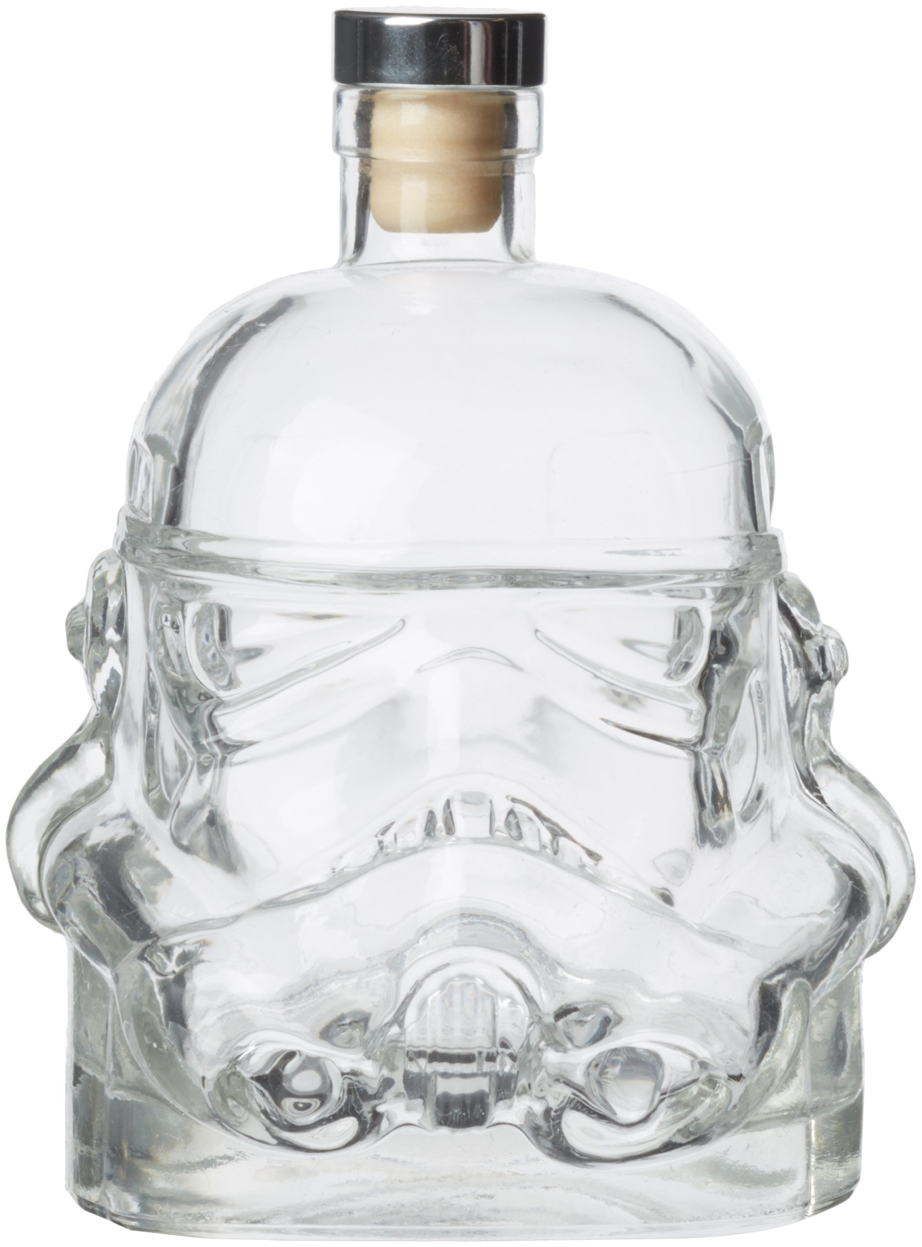 Stormtrooper Star Wars Decanter Rogue One The Force Awakens Helmet Clear Glass