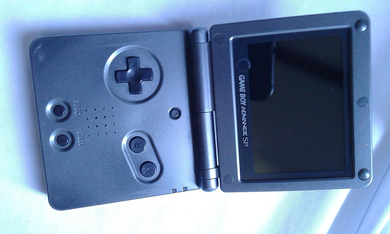 Amazon com: Nintendo Game Boy Advance SP AGS-101 Onyx Black