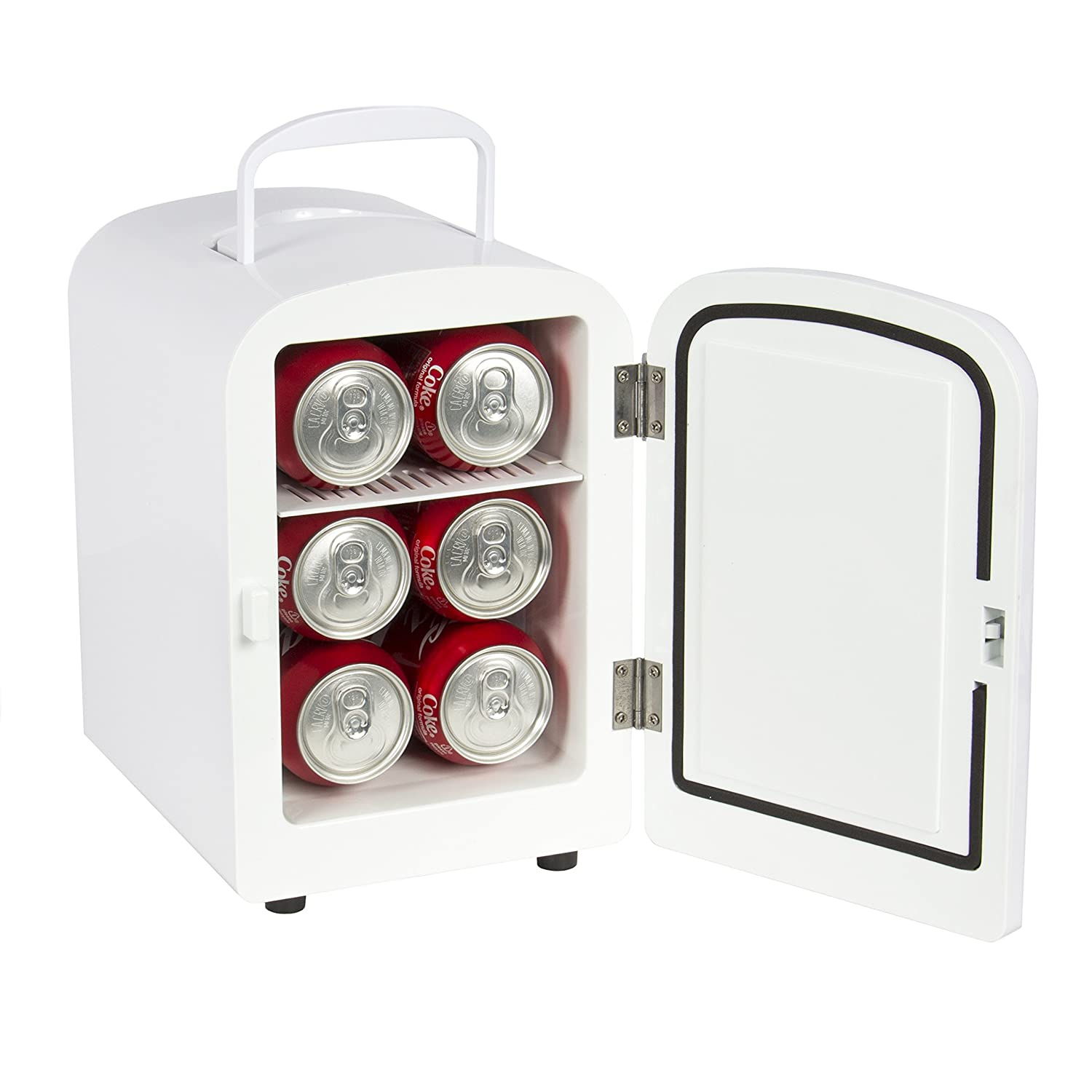 Amazon.com: Best Choice Products SKY1590 Portable Mini Fridge Cooler And  Warmer (Auto Car Boat Home Office AC U0026 DC White): Automotive