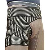 LUSAS フリーサポーター ロング 長さ4m 股関節サポーター 腰 胸部 股関節 バンド サポーター バンテージ