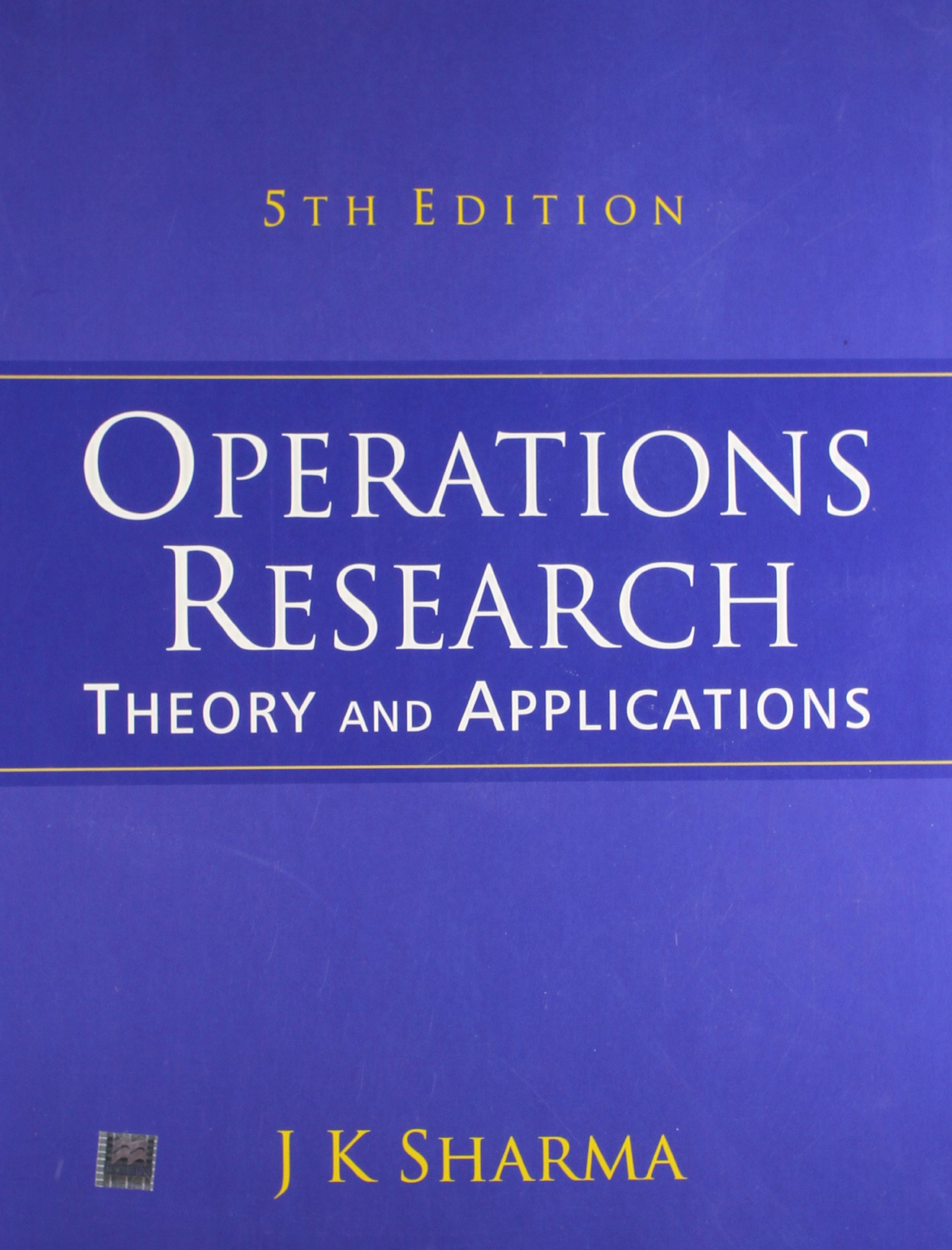 Operation Research Ebook Free Download By Jk Sharma