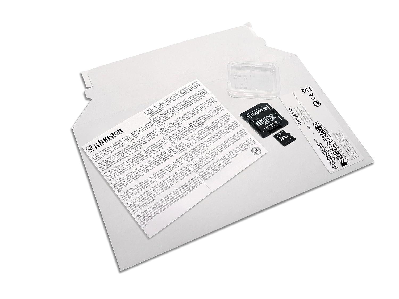 Kingston SDC GB Tarjeta de memoria microSDHC de GB color negro