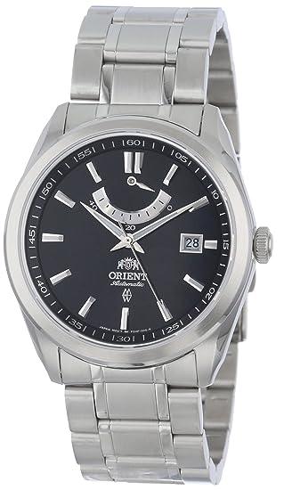 Orient Reloj Analógico para Hombre de Automático con Correa en Acero Inoxidable FFD0F001B0: Amazon.es: Relojes