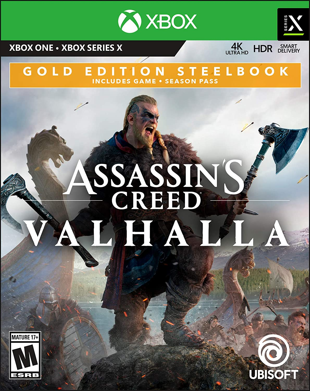 Assassin's Creed Valhalla Xbox Series X|S xbox one gold