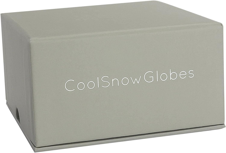 CoolSnowGlobes Las Cuatro Estaciones Invierno Primavera Verano Oto/ño Colecci/ón de Cuatro Mini Bolas de Nieve