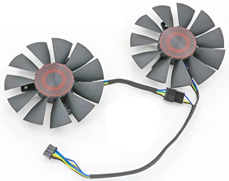 Amazon com: Replacement Video Card Cooling Fan For STRIX GTX 960