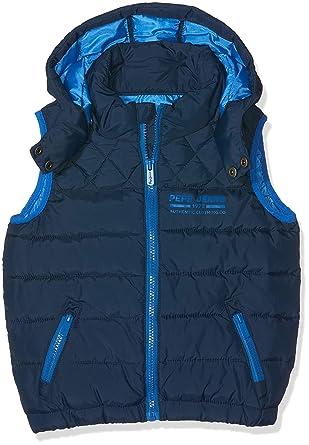 400118b1810 Pepe Jeans Ryan JR Blouson Garçon Bleu (Marine 585) 4 Ans (Taille Fabricant