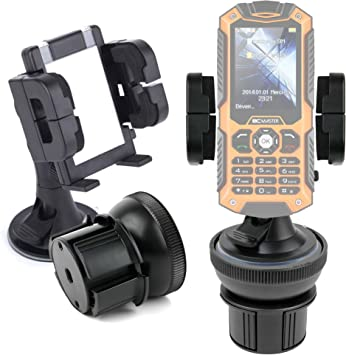 DURAGADGET Soporte De Coche para Smartphone Todoterreno BC Master ...