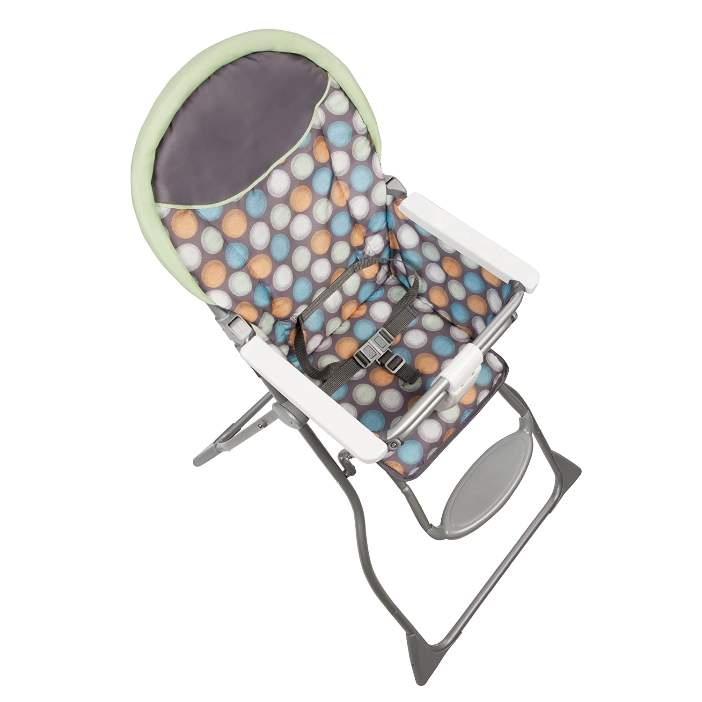 Amazon Cosco Slim Fold High Chair Ikat Dots Discontinued