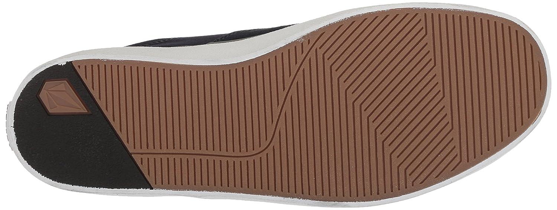 Volcom Mens Draw LO Suede Fashion Shoe Skate