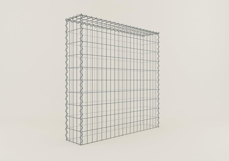 ANBAU-GABIONE Typ3 Steinkorb 100 x 60 x 40 cm Gabionen Maschenweite 5 x 10 cm