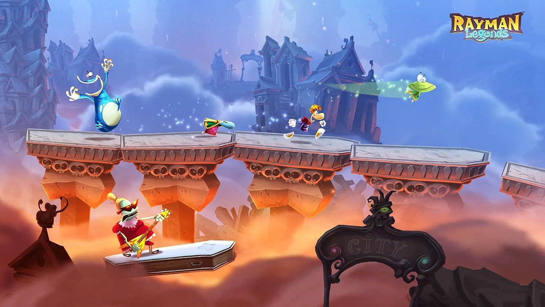 Rayman Legends Nintendo Wii U Amazonde Games - Minecraft legend spielen