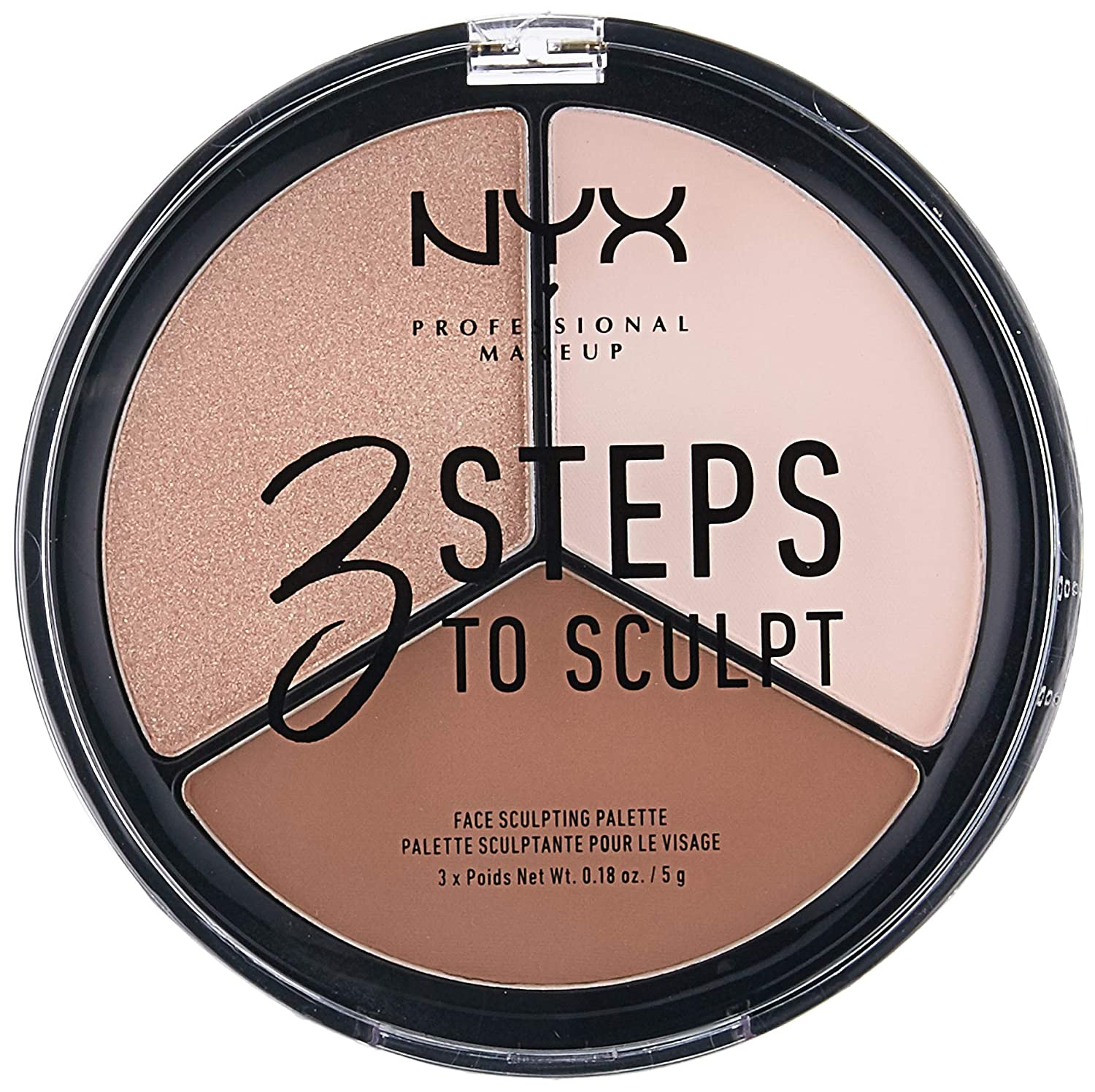 NYX 3 Steps To Sculpt Face Sculpting Palette-0
