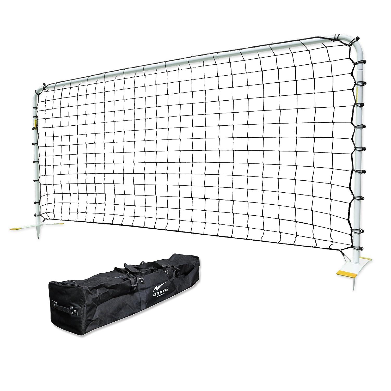 fa2587739 Amazon.com : AGORA Aluminum Rebounder, White, 7 x 14-Feet : Soccer  Rebounders : Sports & Outdoors
