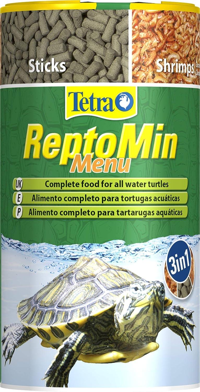 Tetra ReptoMin Menu 250 ml - Alimento principal para todas las tortugas