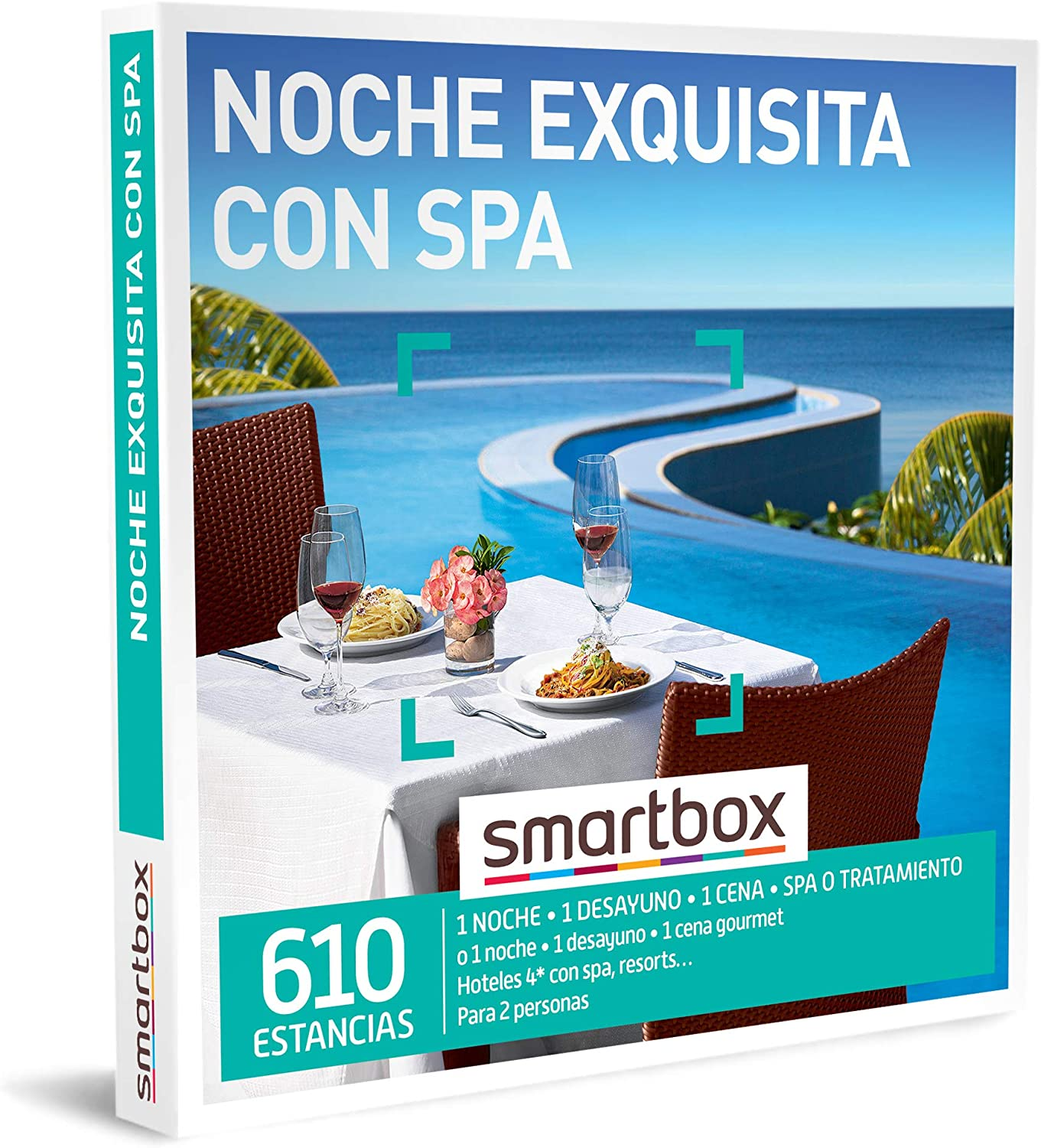 SMARTBOX - Caja Regalo - Noche Exquisita con SPA - Idea de Regalo ...