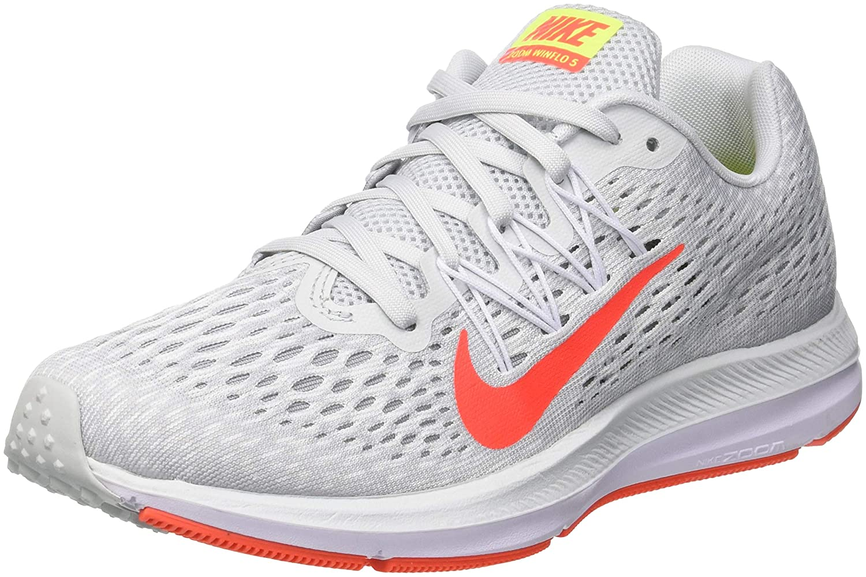 Pure Platinum Bright Crimson Nike - WMNS Air Zoom Winflo 5