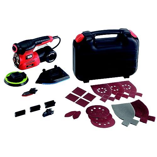 Black + Decker KA280K Multiponceuse Autoselect 2 Vitesses