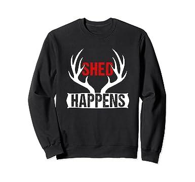 Amazon Com Shed Hunter Cool Deer Antler Collector Sweatshirt Clothing