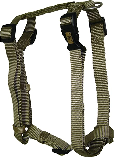 Gold Hamilton B CFA XSGD Adjustable Comfort Dog Harness Fits Chest Size 10 to 16-Inch with Brushed Hardware Ring X-Small