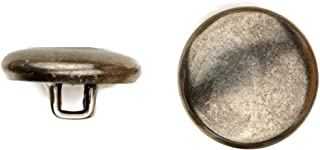 product image for C&C Metal Products Corp 5002 Quarter Dome Metal Button, Size 40, Colonial Nickel Finish, 36-Piece