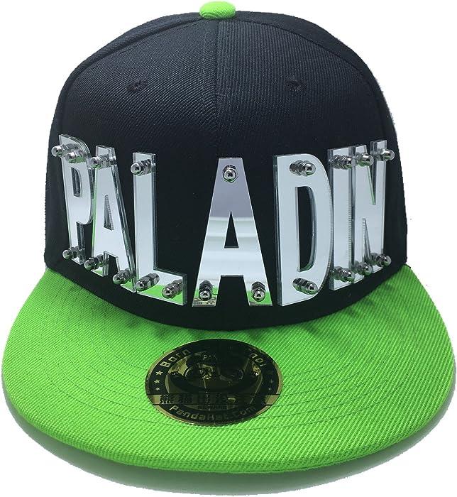 Amazon.com  PANDAHAT Paladin Voltron Hat In Black With Green Brim ... 92ce5d63675