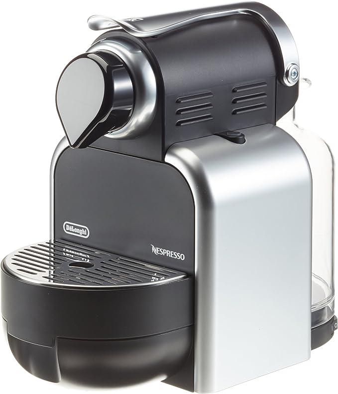 Nespresso Essenza Automatic Silver EN95S DeLonghi - Cafetera monodosis (19 bares, Automática y programable, Modo ahorro energía), Color plateado: Amazon.es: Hogar