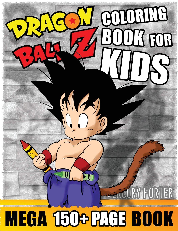 Amazon Com Dragonball Z Coloring Book 150 Mega Unofficial Dragon