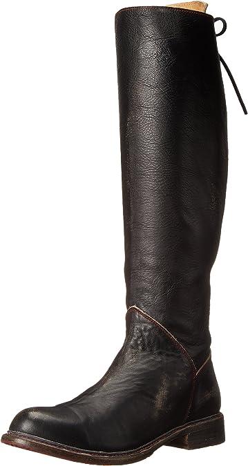 10 M US bed stu Womens Manchester Motorcycle Boot Black Rustic//Teak Rustic